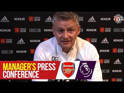 Пресс-конференция менеджеров   Манчестер Юнайтед - Арсенал   премьер Лига