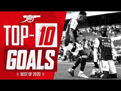 Сака, Мартинелли, Обамеянг, Пепе   Топ-10 голов Арсенала в 2020 году