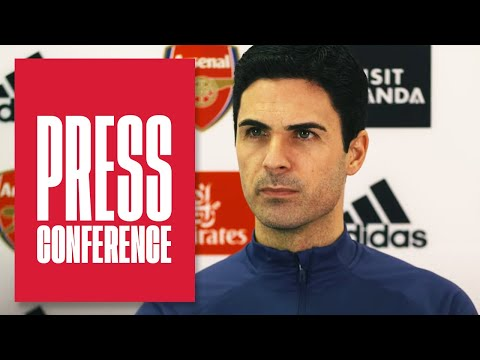 Красные карточки, Мартинелли, Эвертон и годовщина в качестве менеджера | Микель Артета | Пресс-конференция