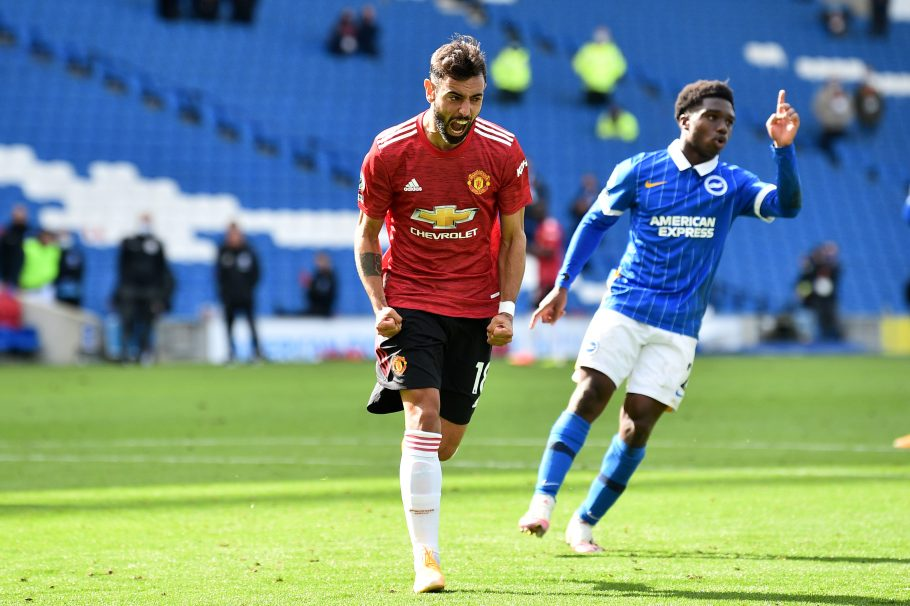 Bruno Fernandes bags latest PL award/Joins Cristiano Ronaldo in Man United record books