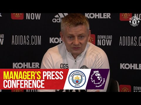 Пресс-конференция менеджеров | Манчестер Юнайтед - Манчестер Сити | премьер Лига