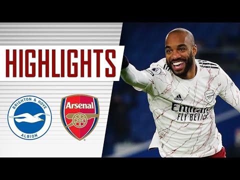 ГЛАВНОЕ | Ляказетт забивает победителем | Брайтон - Арсенал (0: 1) | премьер Лига
