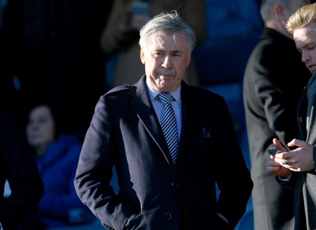 Карло Анчелотти выражает желание досмотреть текущий контракт с Эвертоном