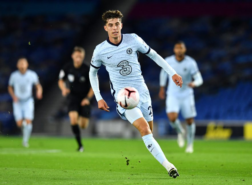 Lampard suggests Chelsea's Kai Havertz may need a year to fully adapt to Premier League
