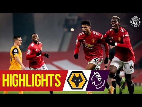 Рашфорд забил победителя с компенсированным временем! | Манчестер Юнайтед 1: 0 Вулвз | Основные моменты | премьер Лига