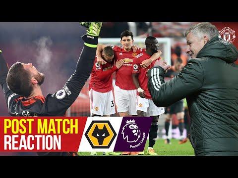 Сульшер, Магуайр и Де Хеа реагируют на позднюю победу | Манчестер Юнайтед 1: 0 Вулвз | Послематчевая реакция