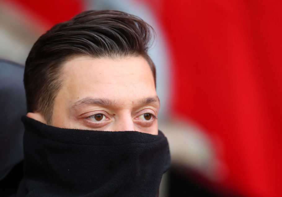 Mikel Arteta refuses to rule out Mesut Ozil's return to Arsenal setup following turn of year