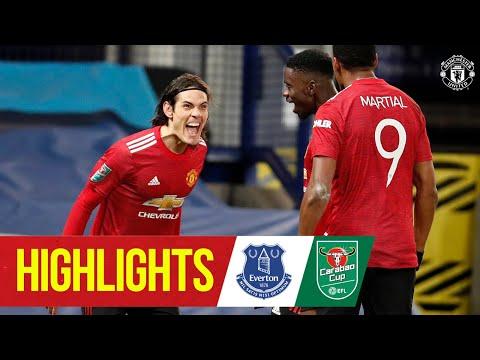 Основные моменты | Кавани и Марсьяль отправляют красных | Эвертон 0: 2 Манчестер Юнайтед | Кубок Карабао