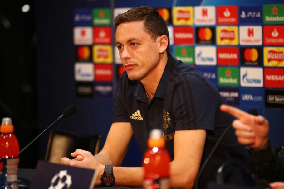 Nemanja Matic 'very confident' ahead of Man United's semi-final meeting with Man City