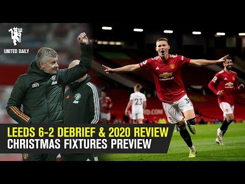 Лидс 6-2 DEBRIEF & 2020 Обзор   Предварительный просмотр рождественских светильников   Групповой чат   Манчестер Юнайтед