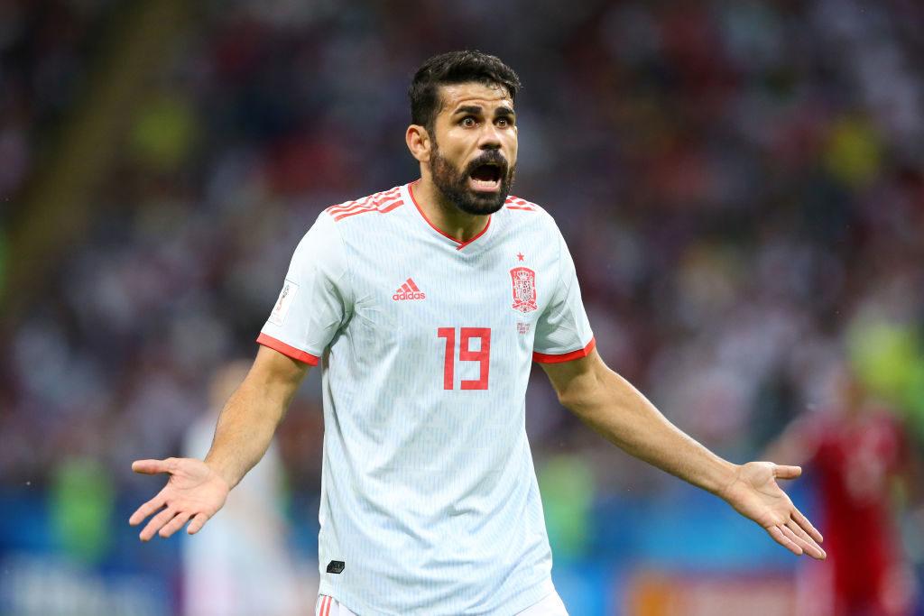 Диего Коста Чемпионат мира по Испании