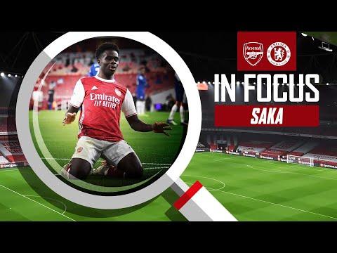 ? Букайо Сака | Каждое прикосновение | Арсенал - Челси (3-1)