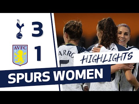 ГЛАВНОЕ | SPURS WOMEN 3-1 ASTON VILLA | FAWSL