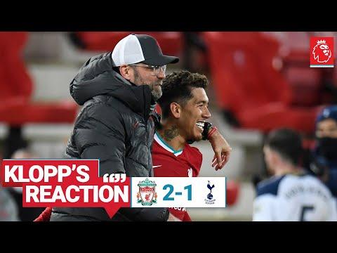 Реакция Клоппа: поздние голы, уверенность Фирмино и Рис Уильямс | Ливерпуль против шпор