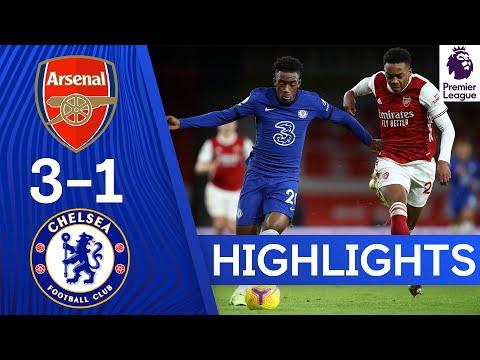 Арсенал 3: 1 Челси   Лучшее в Премьер-лиге