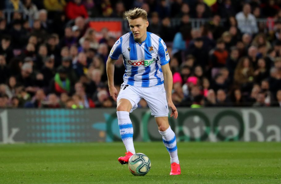 Arsenal approach Martin Odegaard over loan deal but Norwegian appears set for Real Sociedad return