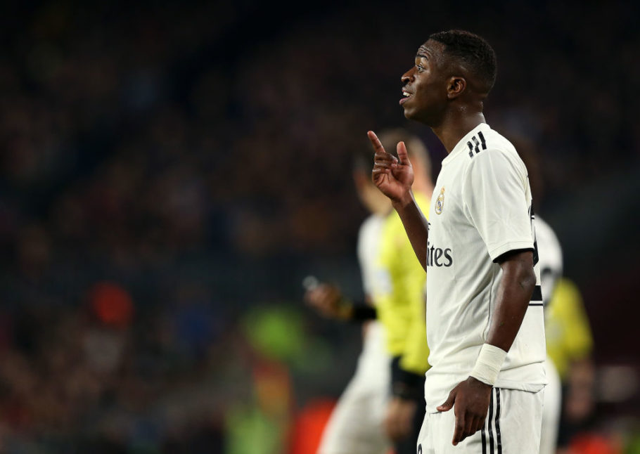 Arsenal linked with Real Madrid forward Vinicius Jr.