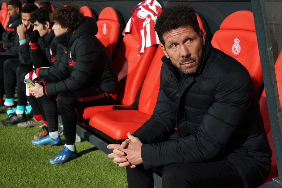Atletico Madrid's La Liga titles hopes dealt a blow as Diego Simeone's camp the latest hit by Covid-19