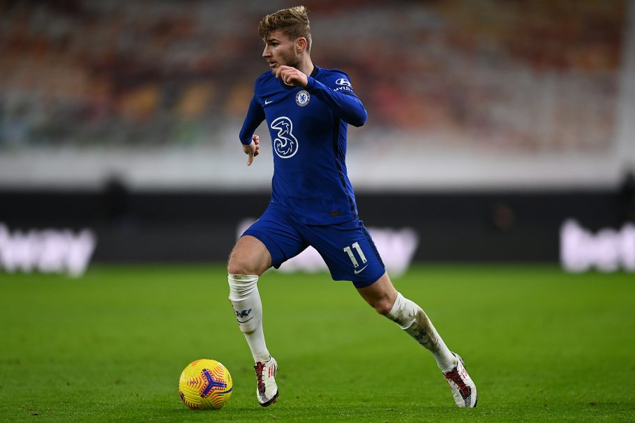 The concerning stats behind Chelsea hitman Timo Werner's struggles in front of goal