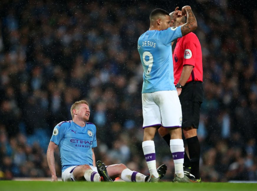 Quotes: Guardiola explains why Kevin De Bruyne was substituted against Aston Villa amid muscle injury fears