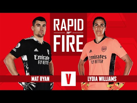 What dedication song did Ryan have? | Mat Ryan and Lydia Williams | Rapid fire