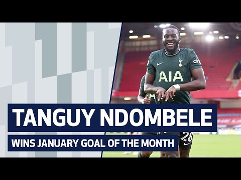 TANGUI NDOMBELE TAKES GOAL FOR THE MONTH OF JANUARY