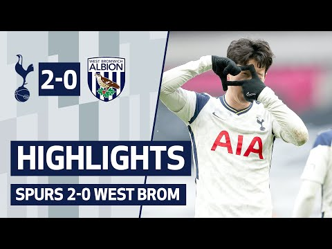 HIGHLIGHTS | SPURS 2-0 WEST BROOM | Sleep and Kane are back at the gate!