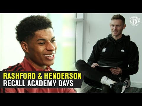 Marcus Rashford and Dean Henderson Recall Time Together at United Academy | Manchester United