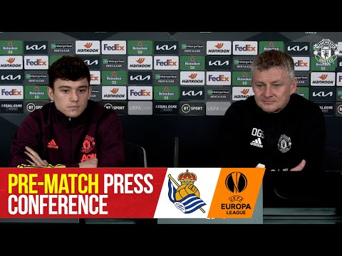 Pre-match press conference | Manchester United - Real Sociedad | UEFA Europa League