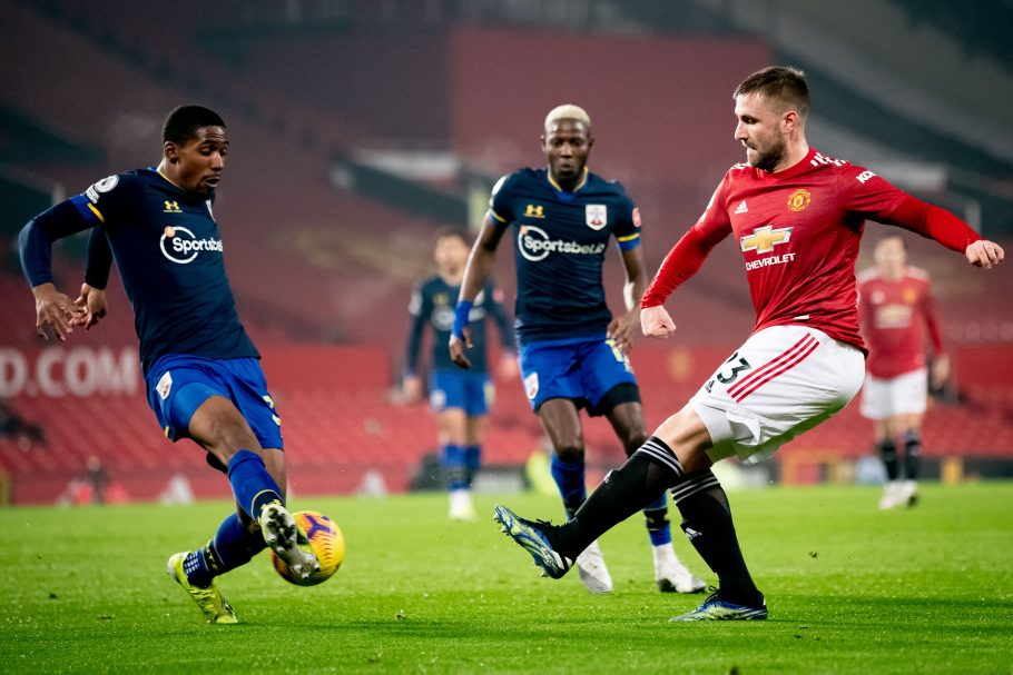 Luke Shaw's remarkable offensive improvement highlighted by pair of stats vs Southampton
